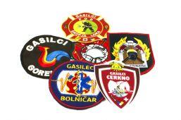 Našitki za gasilce - gasilska društva